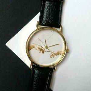 New wristwatch watch Michaelangelo Sistine chapel